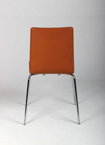 mødestol cognacfarvet læder