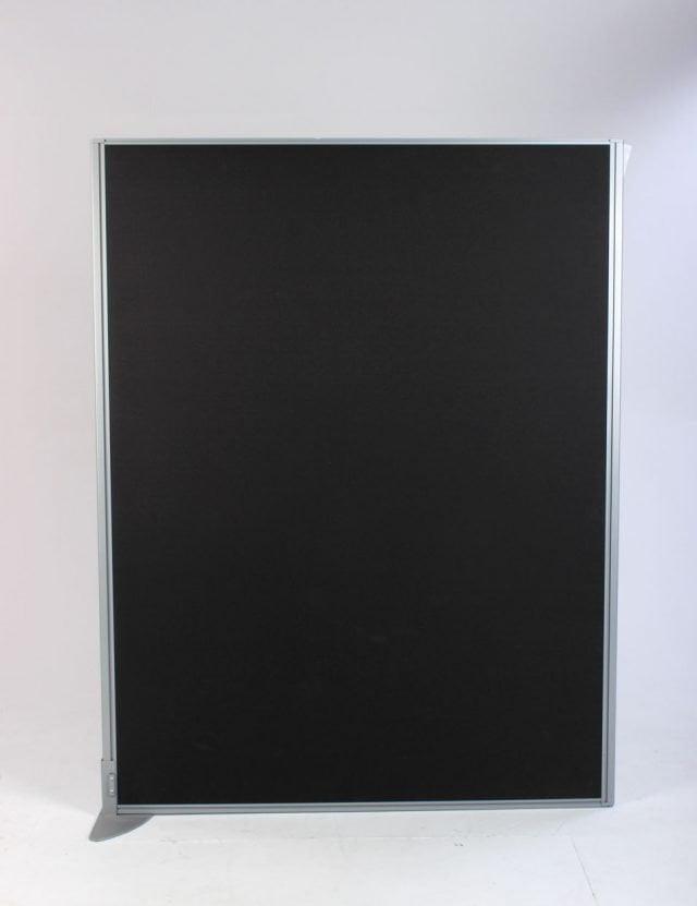 Skærmvæg sort