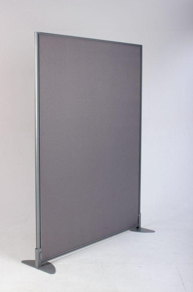 Skærmvæg grå