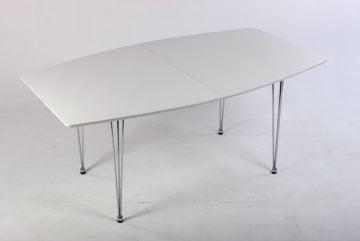 Kantinebord hvidt
