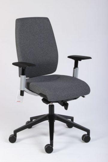Grå Giroflex 68 kontorstol