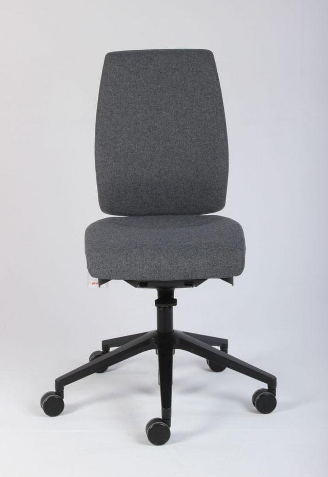 Giroflex 68 kontorstol i grå og sort