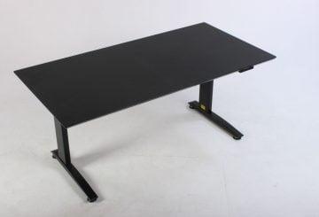 Billigt hæve sænkebord sort linoleum