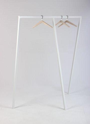 HAY Loop stand wardrobe 130 cm. hvid