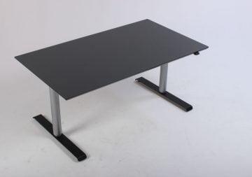 Dencon hæve sænkebord 140 cm antracitgrå