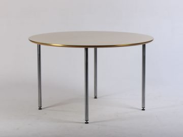 Rundt mødebord Ø120 cm.