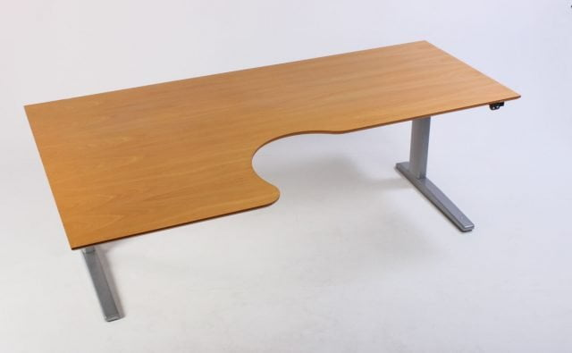 Venstrevendt hæve sænkebord