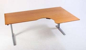 Højrevendt hæve sænkebord