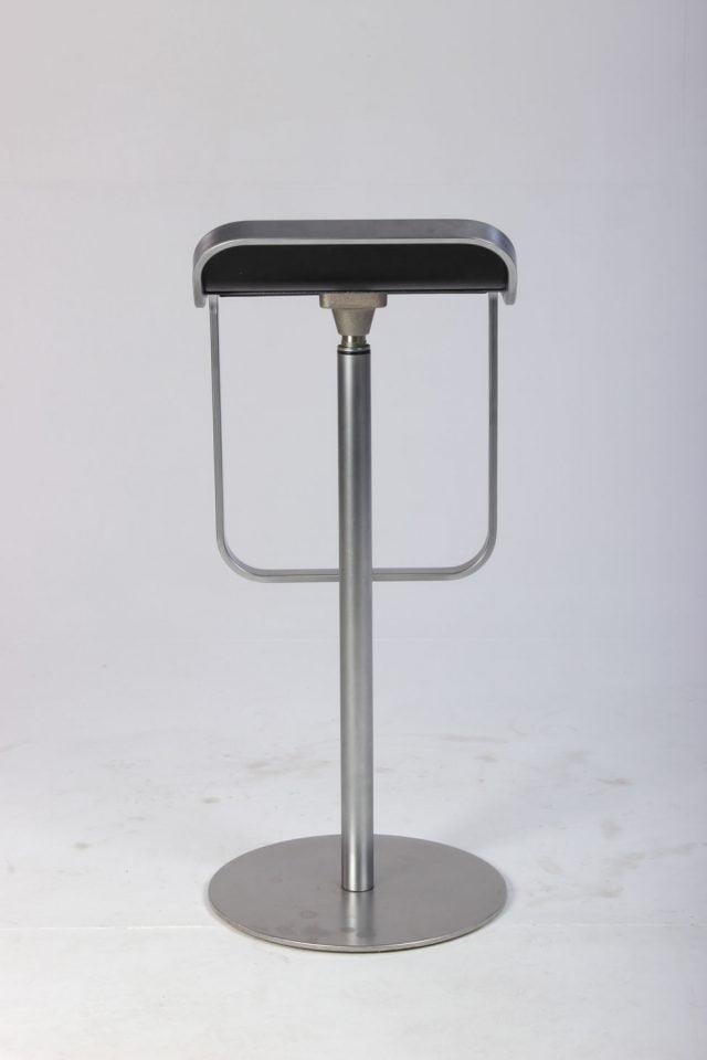 La Palma LEM barstol i sort læder