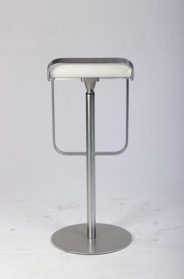 La Palma LEM barstol i hvid