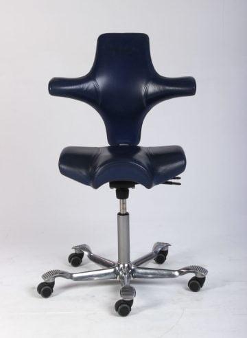 Håg Capisco 8106 kontorstol i læder