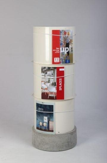 Bord brochureholder reklamer