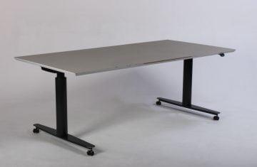 Duba hæve sænkebord grå
