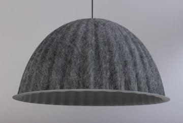 Muuto Under the Bell pendel loftlampe grå