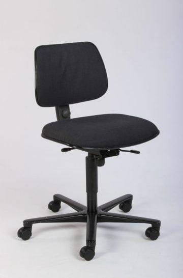 Håg 04 mørkegrå kontorstol