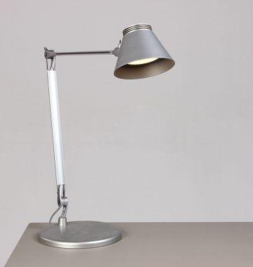 Bordlampe grå