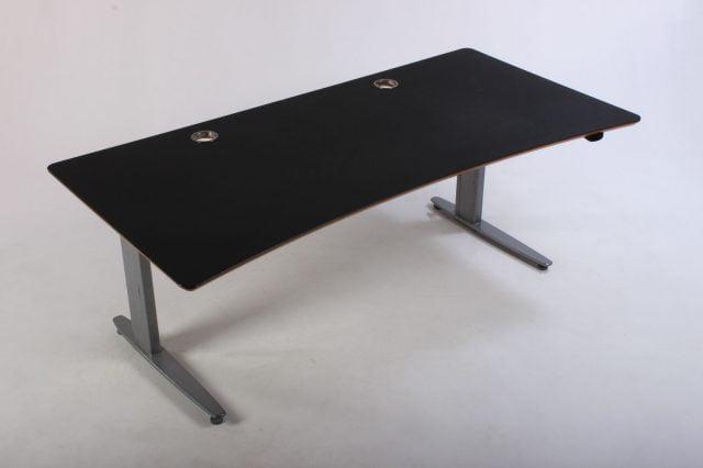 Conset hæve sænkebord sort