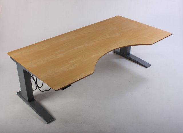 Conset hæve sænkebord birk