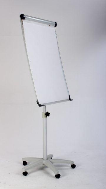 Whiteboard/flipover på hjul