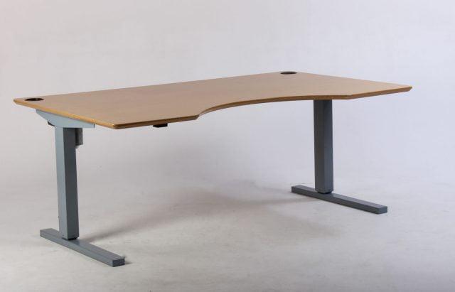 Conset hæve sænkebord bøg