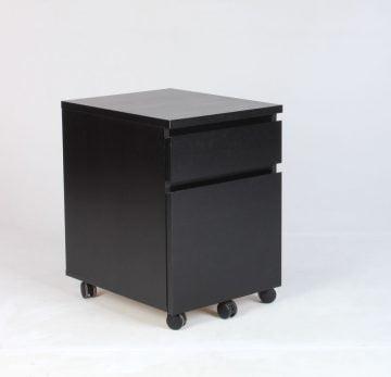 sorte kontorskuffer