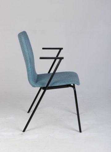 Blå mødestol