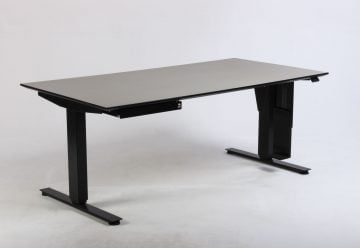 Hæve sænkebord grå beige