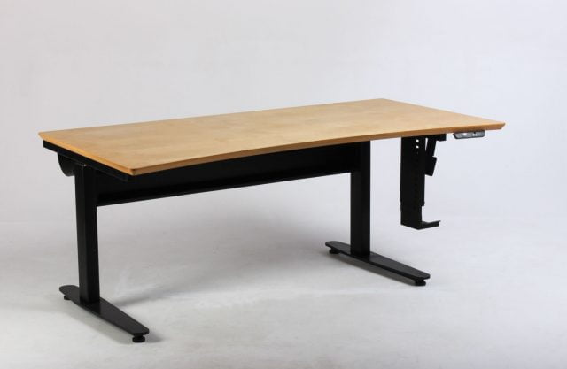 Hæve sænkebord birk