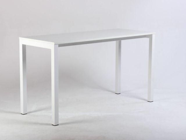 Hvidt højt bord