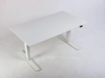 Hvidt hæve sænkebord