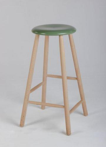 grøn barstol