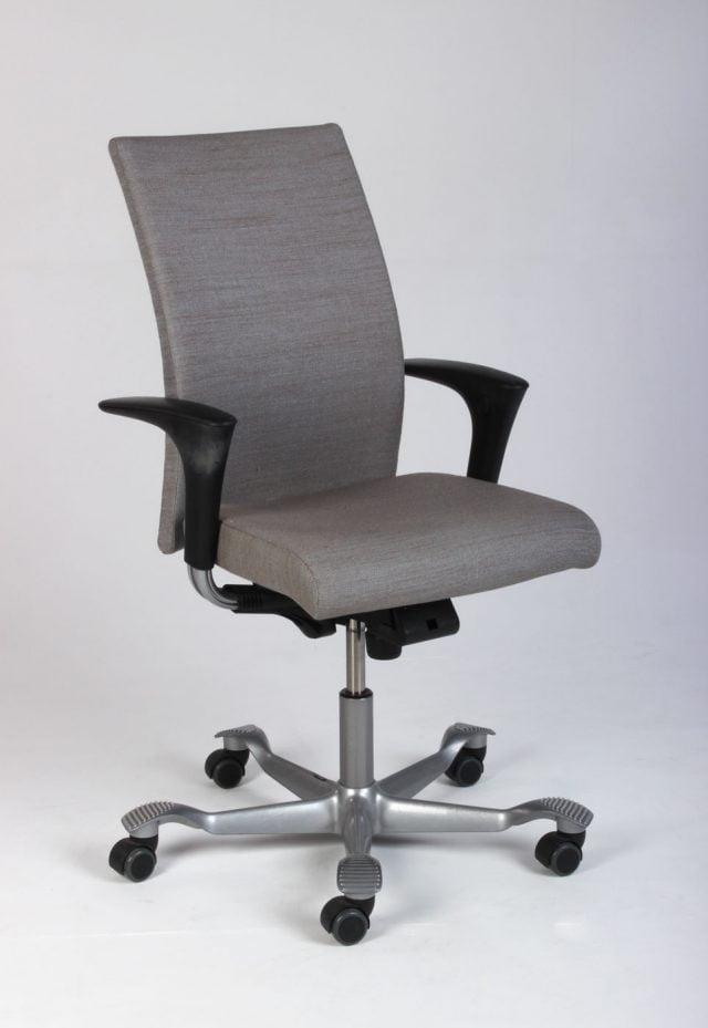 grå beige kontorstol