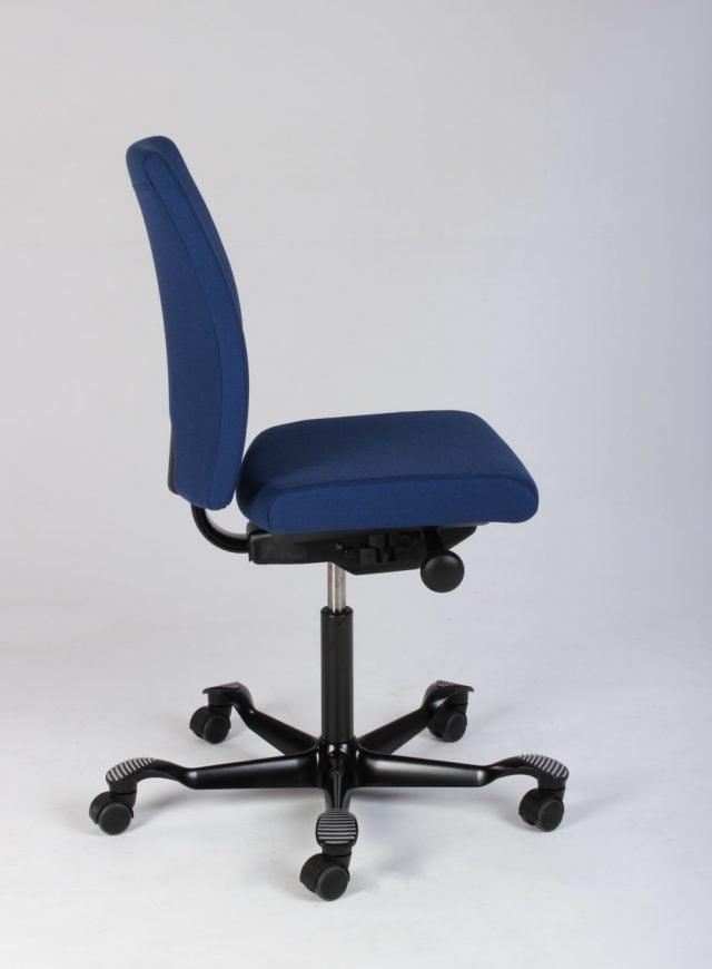 Blå kontorstol