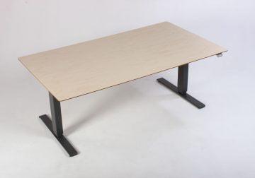 Høve sænkebord med lys bordplade