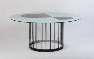 Spisebord med metal